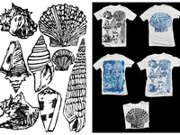 Seashells shirt design Brunotti part 2