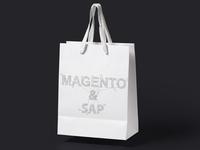 Illustrative typography design for Magento part 1