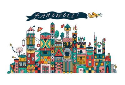 Tiny Town Illustration