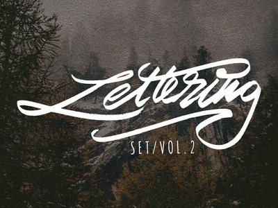 Lettering Collection v2 branding typeface graffiti brush calligraphy logotype handwritten handwriting illustration type script hand lettering design calligraphy typography lettering