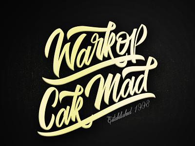 Warkop Cak Mad branding font typeface graffiti logotype handwritten handwriting type script hand lettering calligraphy typography lettering