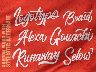 The Blangkon Script Font brush calligraphy logo branding typeface logotype handwritten handwriting hand lettering type script calligraphy typography lettering font