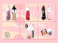 Hijab store project Design