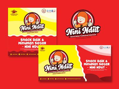 Ninindut Banner snack gram logo banner banner ads food