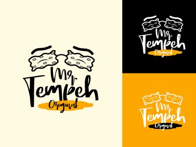Mr.Tempeh Logo