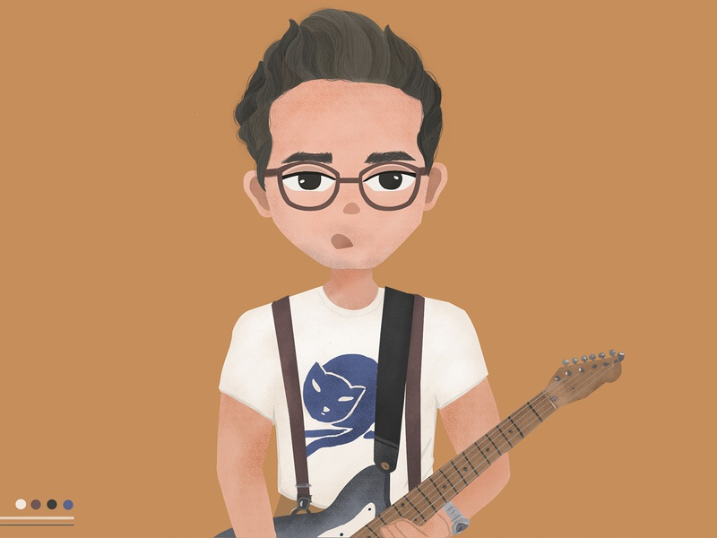 john mayer character illustration cartoon characterdesign singing music illustration john mayer illustration art character illustration
