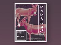 Mexico 44   Donkey Poster