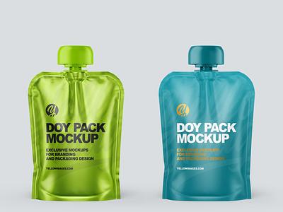 Doy Packs Mockups PSD 5k smartobject mock up mockup design package pack mockupdesign visualization mockup design 3d