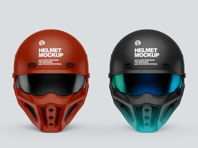 Helmet Mockup PSD 5k labeldesign helmet mockup branding illustration smartobject mockupdesign visualization mockup design 3d