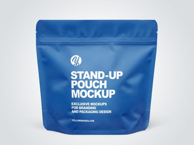 Stand-up Pouches Mockups PSD pack branding logo mockup design package mockupdesign visualization mockup design 3d