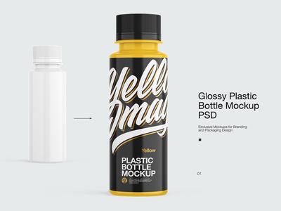 Littel Plastic Bottle Mock-up