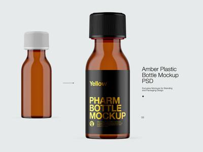 Pills Bottle Mock-up