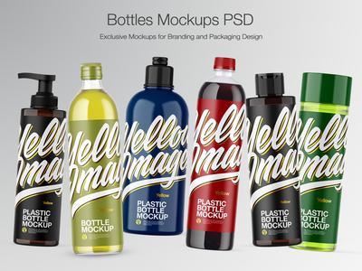 Bottles Mockups