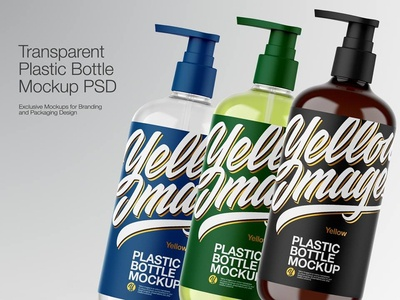 Plastic Bottle Mock-up