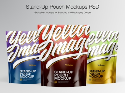 Stand-up pouch Mockup coffeepack softpack pouchmockup typography vector smartobject real mockupdesign package visualization logo pack mockup design mockup mock up illustration design 3d