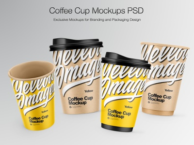 Coffee Cup Mockup PSD coffeecup typography vector mockups branding smartobject icon real mock-up package pack mockupdesign logo visualization mockup design mock up mockup illustration design 3d