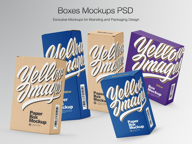 Boxes Mockups PSD branding boxlabel boxmockup box vector smartobject icon real mock-up package pack mockupdesign logo visualization mockup design mock up mockup illustration design 3d