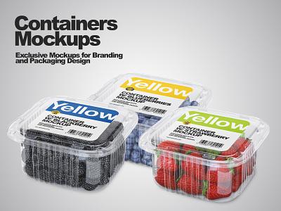 Container Mockups PSD visualization smartobject logo mock up mockup design mockupdesign pack mockup design 3d