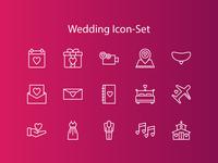 Wedding Icon-Set