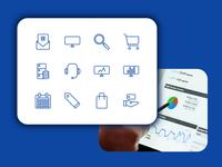 Digital Marketing Icon-Set