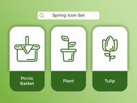 Spring Icon-Set