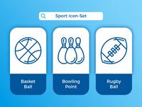 Sport Icon-Set ⚽