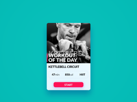 Day 62 - Workout of the day
