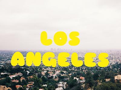 California loving sniglet photography typography la losangeles california