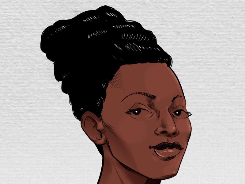 Book Cover Peek photoshop illustrator wacom digital nigerian qaaim goodwin