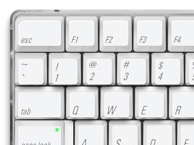 Old mac keys 2