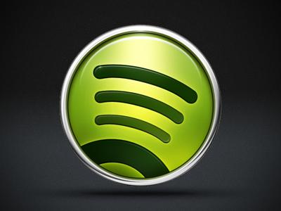Spotify dribbble