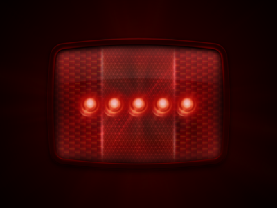 Plastic Reflector Rebound plastic reflector bike bicycle led lights rebound glow red black photoshop