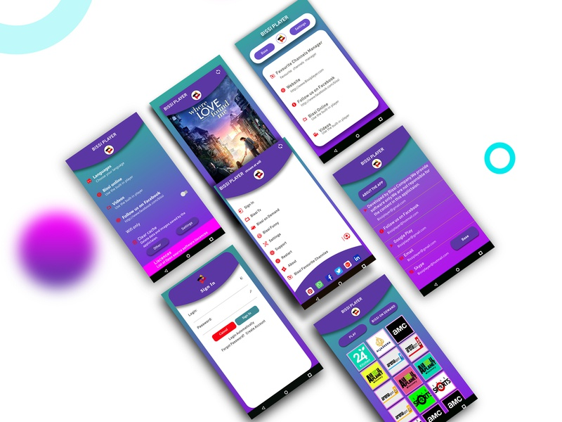 Bissii Re Design Mockup ui photoshop design app design mbile uiux