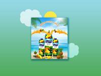 Juices Design for social media Promotion