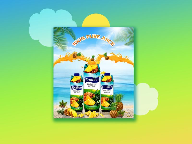 Fruitten Juice 2 photoshop design social media aa add design social media add social