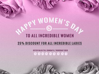 WOMEN S DAY 2018