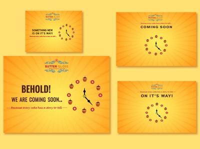 coming soon bakery social media designs