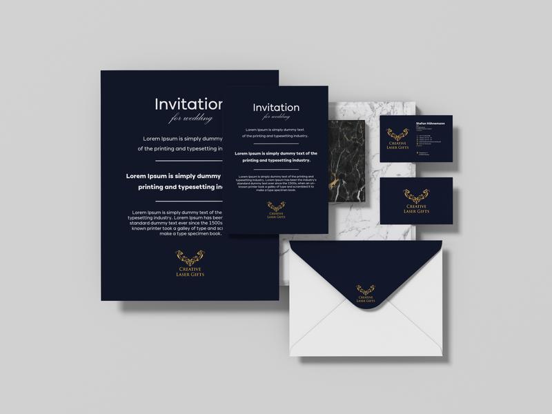 Stationery  Design typography design logodesign logo business card brochure design stationery design stationery identity branding brand