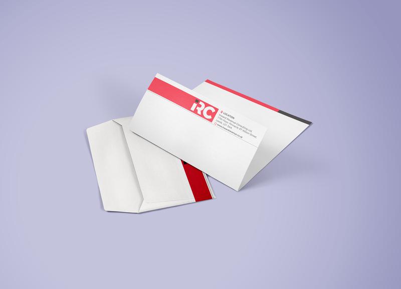 Envelope With Letterhead identity branding letterhead template letterhead design letterhead envelope design envelop