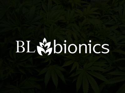 Bl Bionics typography logotype vector illustration icon design brand logo logodesign identity branding