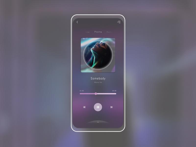 Musicpla 1.0 ui design cooldesign uxui uidesign ui music player musicinterface music art music app music