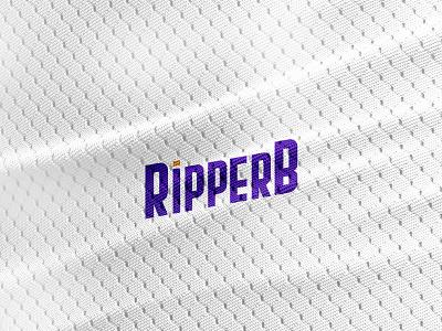 RipperB Twitch Logo typographic typogaphy adobe photoshop adobe illustrator gaminglogo gaming ripperb ripperb twitch logo twitch.tv logotype mockup logo illustration twitch identity design clothes brand identity branding brand