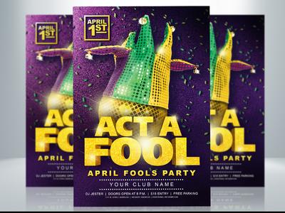 April Fools Party Flyer