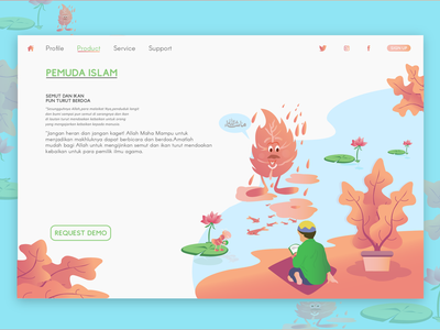 Header Exploration Illustration header web app ux ui illustration design