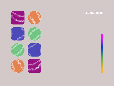 Transform graphic design creative inspiration affinitydesigner daily challange poster design