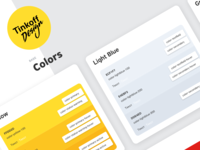Tinkoff Design — Colors