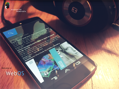 "New ""WebOS"" Android Theme android themer themer beta theme ui webos mobile interface design"