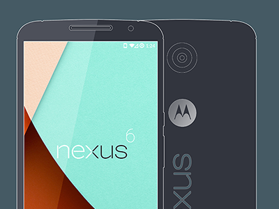 Google Nexus 6 Mock-up & Concept Tool nexus 6 lollipop google mockup template photoshop