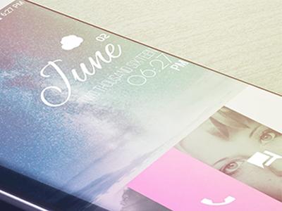Sneak Peek: WebOS Theme Reborn theme android customization klwp