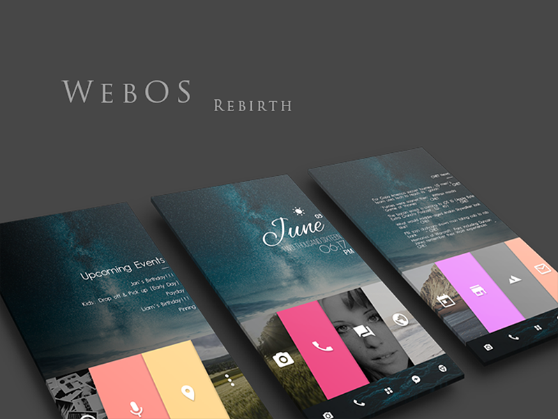 webos rebirth for klwp by edward smith dribbble